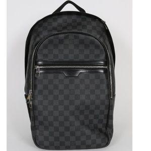 Louis Vuitton black Michael Damier backpack